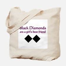 Unique Black diamond Tote Bag