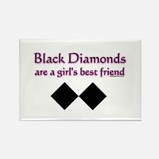black diamonds copy Magnets