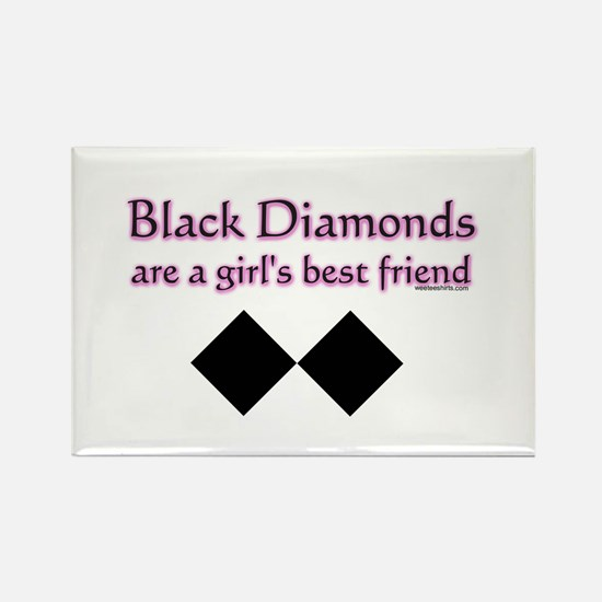 black diamonds copy Magnets