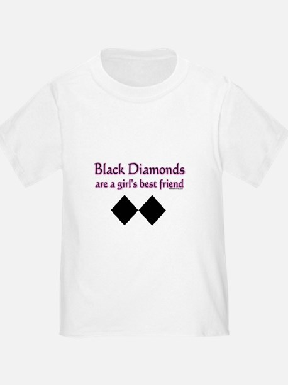 black diamonds copy T-Shirt
