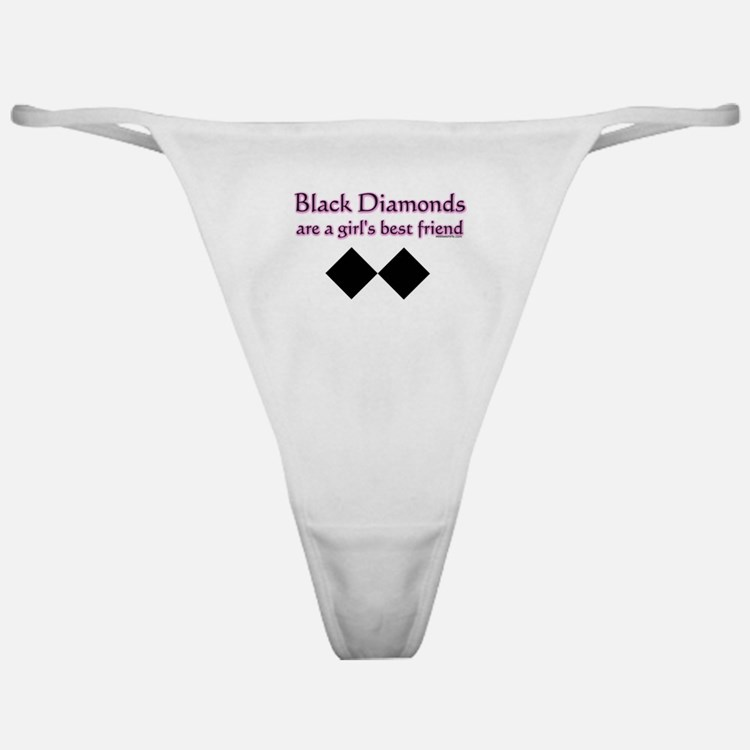 Cute Winter games Classic Thong