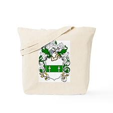 Broderick Coat of Arms Tote Bag