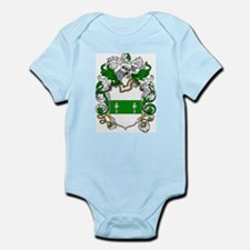 Broderick Coat of Arms Infant Creeper