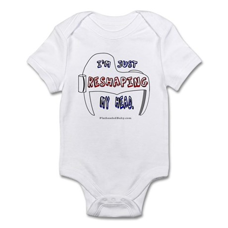 I'm Just Reshaping My Head Infant Bodysuit