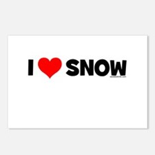 Snowboarding baby Postcards (Package of 8)