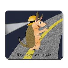 Redneck Armadillo Mousepad