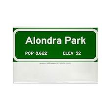 Alondra Park Rectangle Magnet