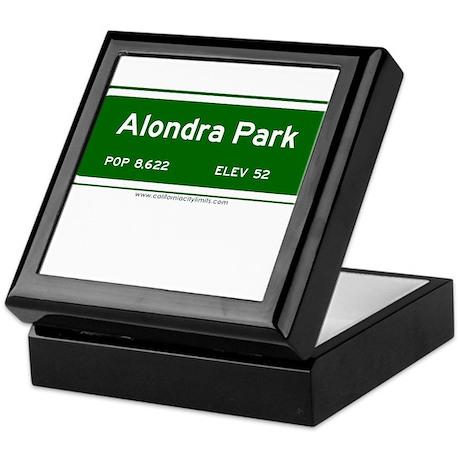 Alondra Park Keepsake Box