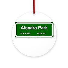 Alondra Park Ornament (Round)