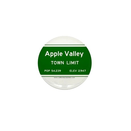 Apple Valley Mini Button