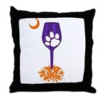 Tipsy Tiger Throw Pillow