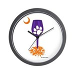Tipsy Tiger Wall Clock