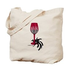 Garnet & Black Wino Tote Bag