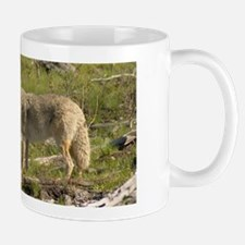 Coyote With Pups Mug