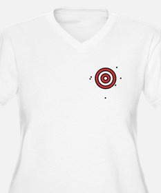 Target Practice Women's Plus Size T (2 SIDED)