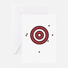 Target Practice Greeting Cards (Pk of 10)