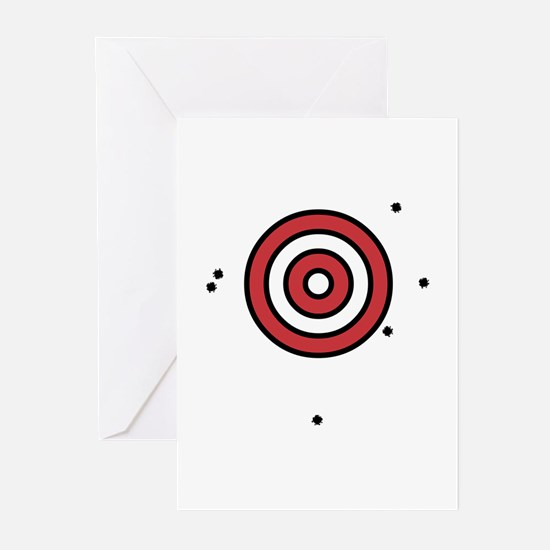 Target Practice Greeting Cards (Pk of 10)