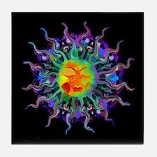 Chakra Sun Tile Coaster