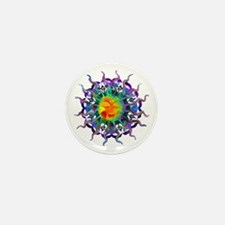 Chakra Sun Mini Button (100 pack)