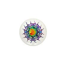 Chakra Sun Mini Button