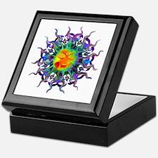 Chakra Sun Keepsake Box