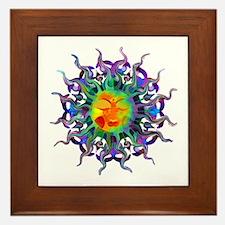 Chakra Sun Framed Tile