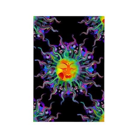 Chakra Sun Rectangle Magnet (100 pack)