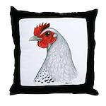 Egyptian Fayoumi Hen Throw Pillow