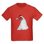 Egyptian Fayoumi Hen Kids Dark T-Shirt