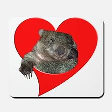 Cute Wombat Mousepad