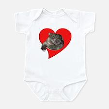 Cute Wombat Infant Bodysuit