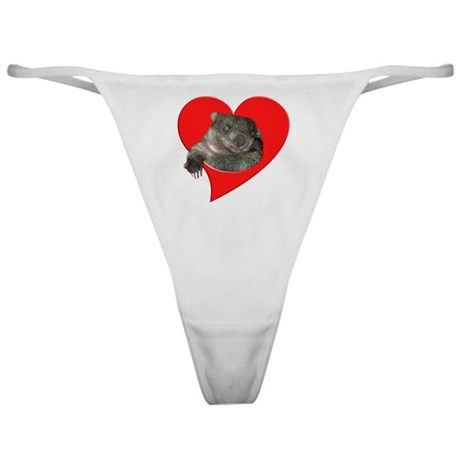 Cute Wombat Classic Thong