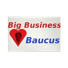 Big Business Loves Baucus Rectangle Magnet (10 pac