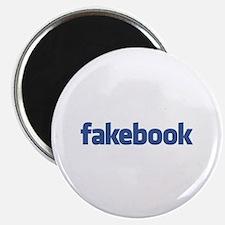 Fakebook Logo Magnet