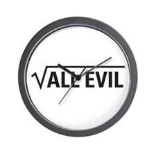 Square Root Of All Evil Wall Clock