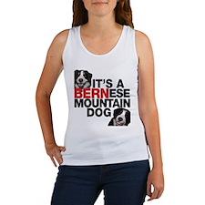 It's a BERNese Mountain Dog Women's Tank Top