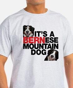 It's a BERNese Mountain Dog T-Shirt