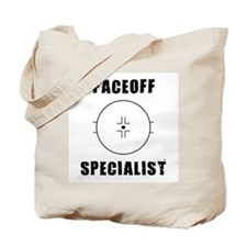 Faceoff Specialist Tote Bag