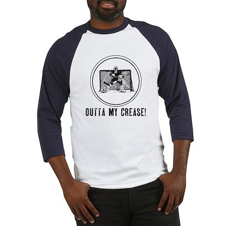 Outta My Crease Baseball Jersey