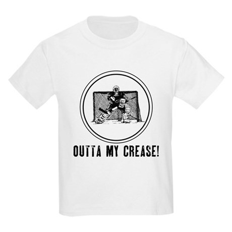 Outta My Crease Kids Light T-Shirt