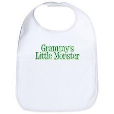 Grammy's Little Monster's Bib