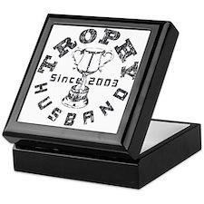 Trophy Husband Since 2003 Keepsake Box