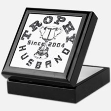 Trophy Husband Since 2004 Keepsake Box