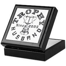 Trophy Husband Since 2005 Keepsake Box