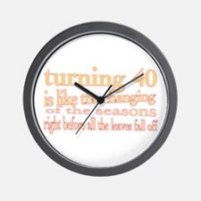 Cute Occasions Wall Clock