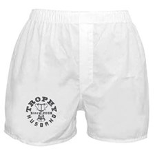 Trophy Husband Since 2008 Boxer Shorts