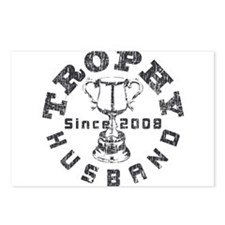 Trophy Husband Since 2008 Postcards (Package of 8)