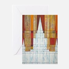 Oakland, CA Temple Greeting Cards (Pk of 20)