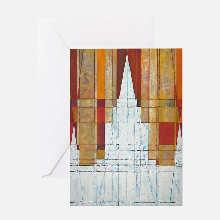 Come (Oakland, California Temple) Greeting Cards