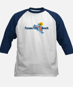 Panama City Beach FL Kids Baseball Jersey